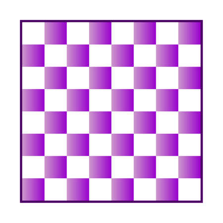 Chess board icon on white background. Vector illustration. Vecteurs