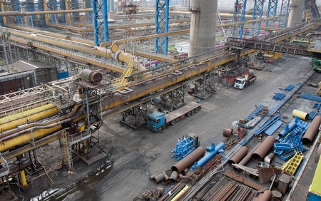 Landscape of steel plant Stock Photo - 13132454
