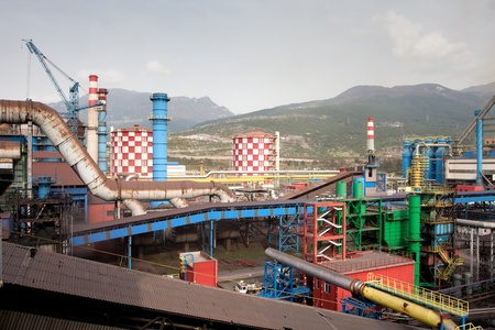 Landscape of steel plant Stock Photo - 13132473