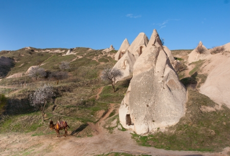 Cappadocia lies in eastern Anatolia, in the center of what is now Turkey. Cappadocia landscape