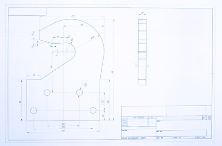 Open blueprint  Design element photo