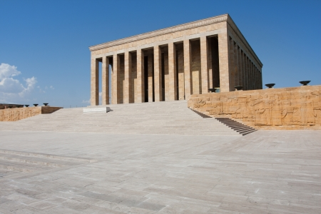 Antkabir (literally,memorial tomb) is the mausoleum of Mustafa Kemal Atatrk, the leader of Turkish War of Independence and the founder and first president of the Republic of Turkey.   Editorial