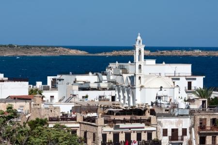 View of Kyrenia city from Kyrenia castle