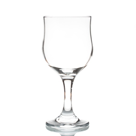 Wine glass isolated on a white background Stock Photo