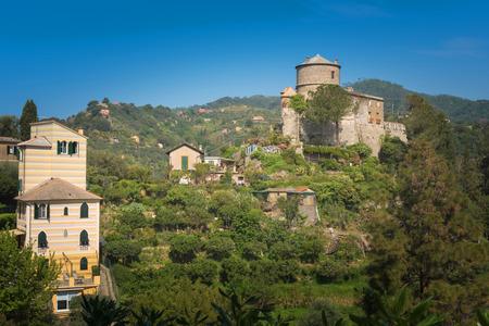 Castello Brown, a unique location in the world, located at the center of the Portofino Bay, dominates the famous square surrounded by the most prestigious villas of international jet set.Genoa, Italy.