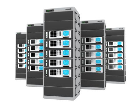 renderfarm: 3d servers.