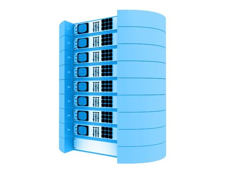 Blue 3d servidores.