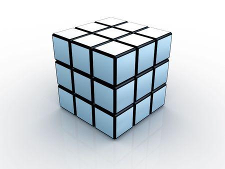 3d: cubes 3d Banque d'images
