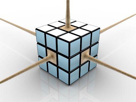 3d: 3d cube