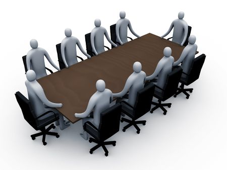 Meeting room #2 Stock Photo