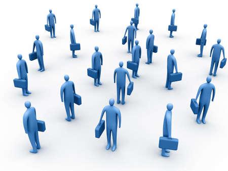 unificar: Reuni�n de negocios  Foto de archivo