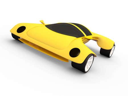 Un concepto de coche # 4 Foto de archivo