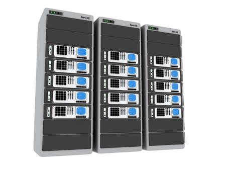 3d Servers #5 Stock Photo