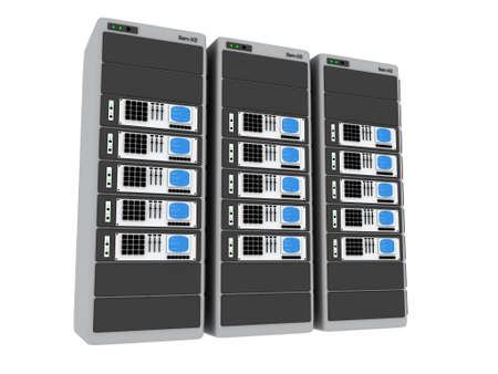 renderfarm: 3d Servers #5 Stock Photo