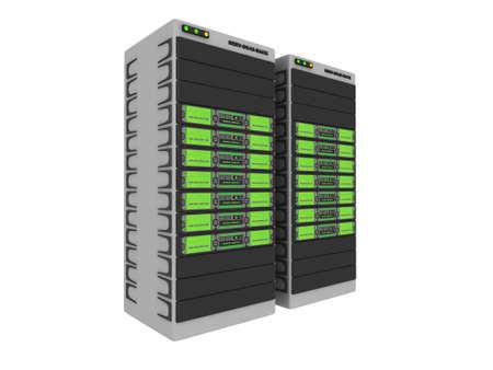 renderfarm: 3d Servers-Green #1