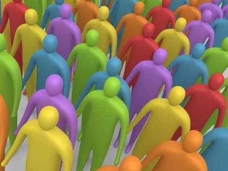 Gente Multicolor #4