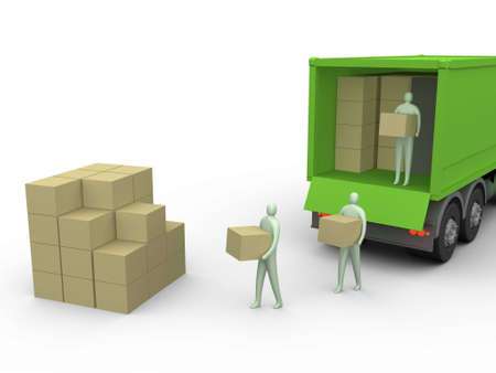 Carga de camiones