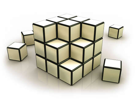 dismantled: Deconstructed Cubes