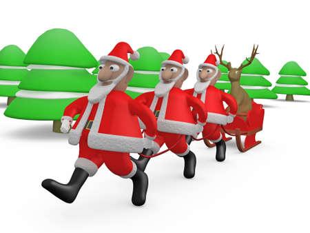 Weird Christmas #2 Stock Photo - 640460