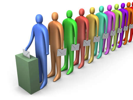 opinion poll: Freedom Of Opinion #4 Stock Photo