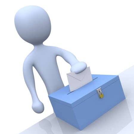 socialist: Voting Stock Photo