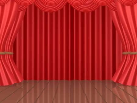 Computer generated image - Theatrical Stage photo
