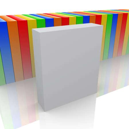 product box: Box vuoto prodotto