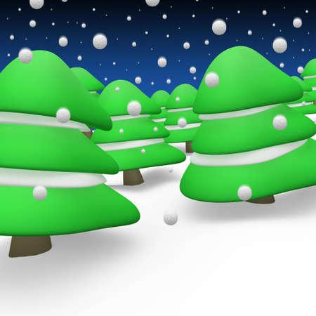 Winter Atmosphere  Stock Photo