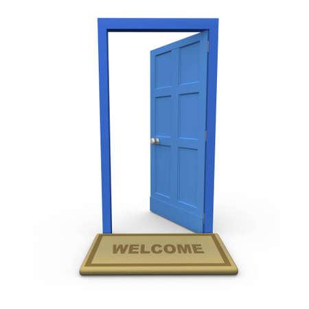 welcome door: Benvenuto