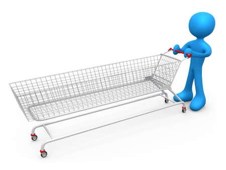 Extreme Shopping Stock Photo - 2486503