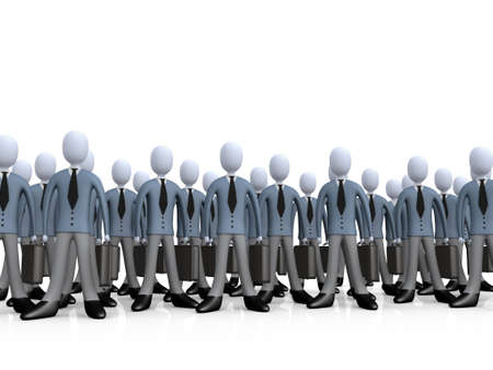 corporate team: Corporate Team Stock Photo