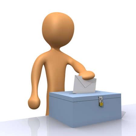 prefer: Voting Stock Photo