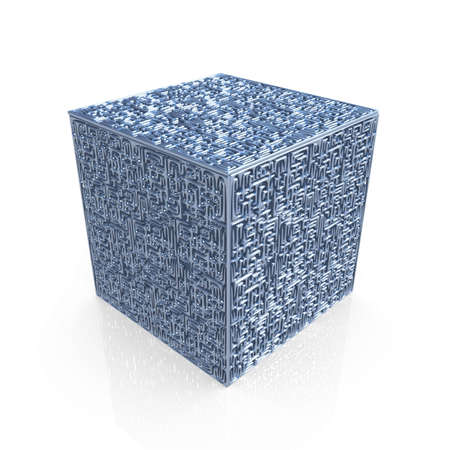 confusing: Maze-Cube