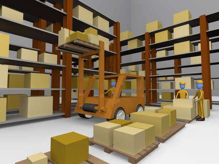 transportation facilities: Warehouse