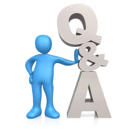 Questions And Answers Stock Photo - 3575532