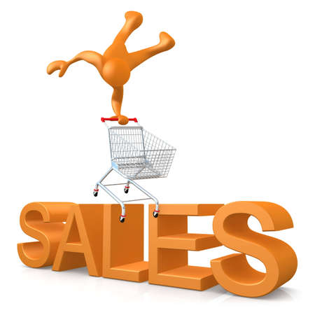 Sales Stock Photo