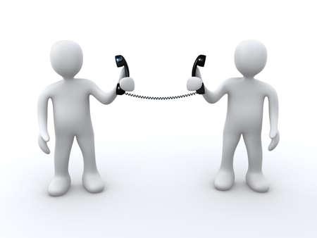 Direct Communication Stock Photo