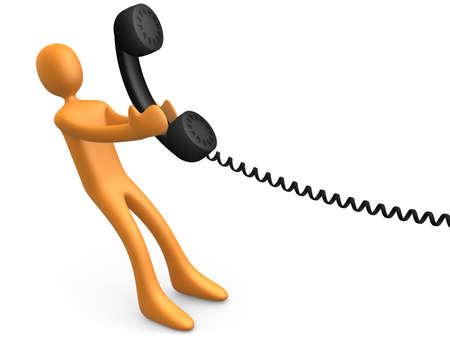phonecall: Communication Stock Photo