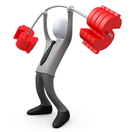 heavy lifting: Money Stock Photo