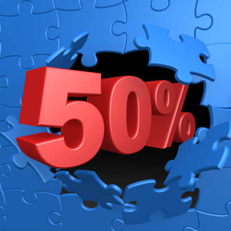 50 off: 50% Off