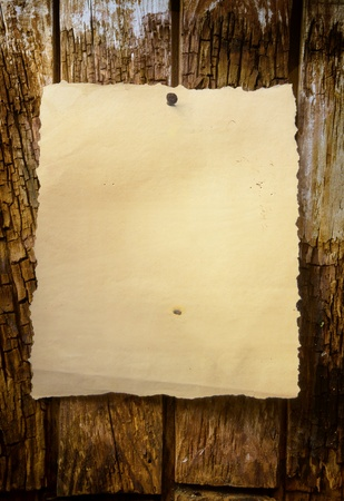 aged paper: abstract background of a Western-style Stock Photo