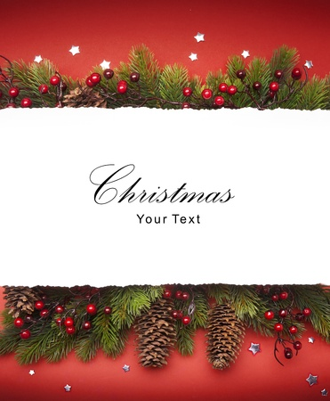 Art Christmas announcement Stock Photo - 10460790