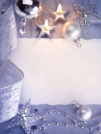 velas de navidad: Tarjeta de felicitaci�n de Navidad de arte
