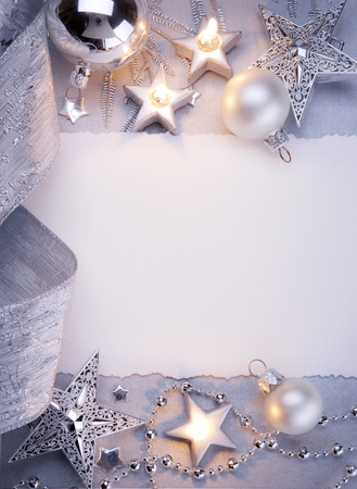 Art Christmas greeting card Stock Photo - 10460783