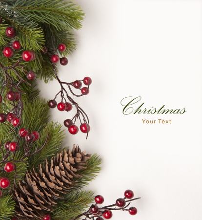 Christmas greeting card Stock Photo - 10460745