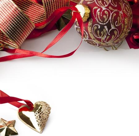 Art Christmas greeting card Stock Photo - 10460738