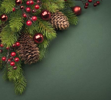 Art Christmas greeting card Stock Photo - 10460780