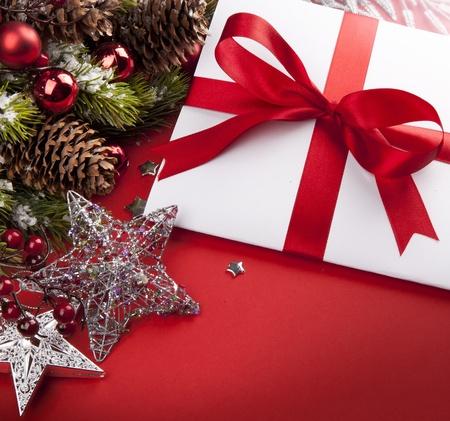 Art Christmas greeting card Stock Photo - 10460764
