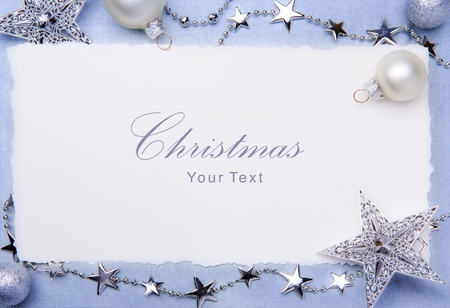 Art Christmas greeting card Stock Photo - 10460775