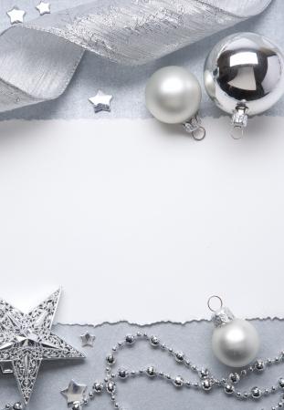 Art Christmas greeting card Stock Photo - 10460773